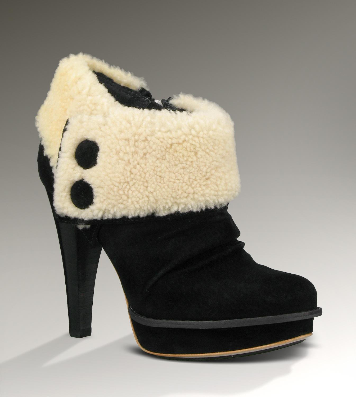 83b0a5197a1 UGG Georgette 1001715 Black Boots [UGG151012-286] - $175.00 : Ugg ...