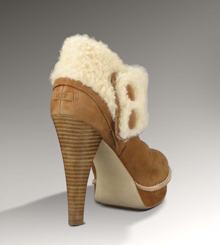 88139e3d16a UGG Georgette 1001715 Chestnut Boots [UGG151012-288] - $175.00 : Ugg ...