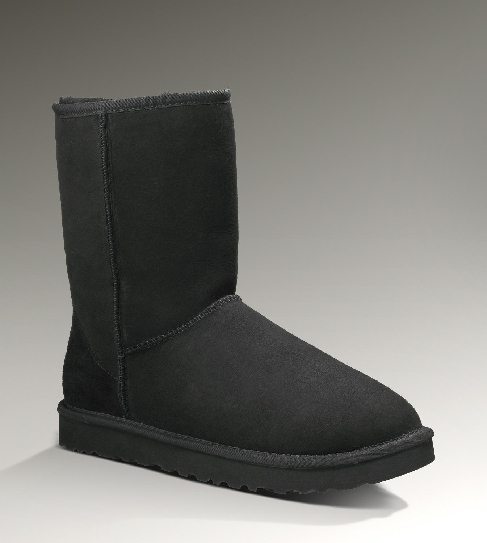 89b72d77b17 UGG Classic Short 5800 Black Boots [UGG151012-124] - $75.00 : Ugg ...