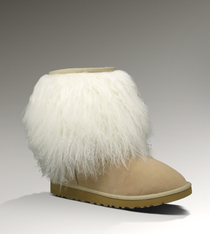 026f8f03e00 UGG Sheepskin Cuff Short 1875 Black Boots [UGG151012-366] - $135.00 ...